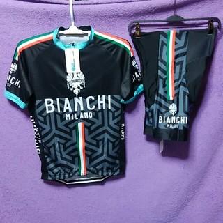 ビアンキ(Bianchi)のイタリアの風🚲BianchiサイクルジャージL(ウエア)