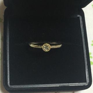 カオル(KAORU)のkaoru ローズカットダイヤ ダイヤモンドリング【期間限定お値下げ】(リング(指輪))
