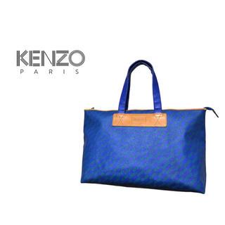 ケンゾー(KENZO)のVintage KENZO ロゴパターン トートバッグ / ケンゾー レザー(トートバッグ)