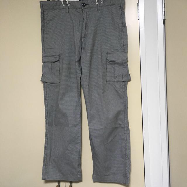 SHIPS(シップス)のSHIPS 千鳥格子 きれいめカーゴパンツ  メンズのパンツ(ワークパンツ/カーゴパンツ)の商品写真