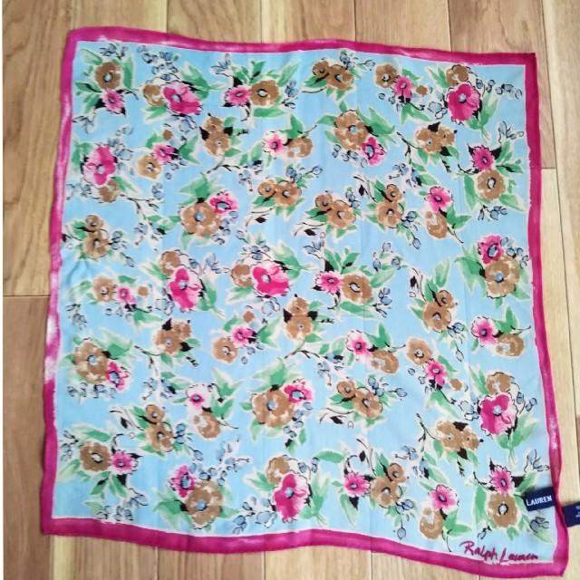 Ralph Lauren(ラルフローレン)のラルフローレン//お花のスカーフ レディースのファッション小物(バンダナ/スカーフ)の商品写真