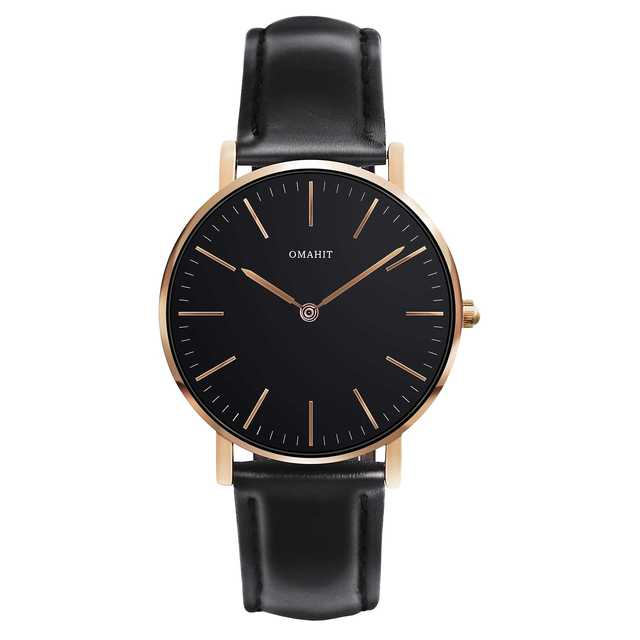 オマヒット 腕時計 レディース 防水 シンプル (36mm, ブラック)の通販 by スマ3's shop|ラクマ