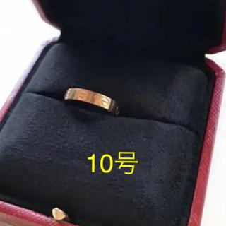 カルティエ(Cartier)のCartier お値下げ☆ ラブリング ピンクゴールド 三越で購入、正規品(リング(指輪))