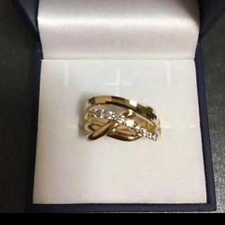 ジュエリーツツミ(JEWELRY TSUTSUMI)の18金ダイヤモンドリング(リング(指輪))