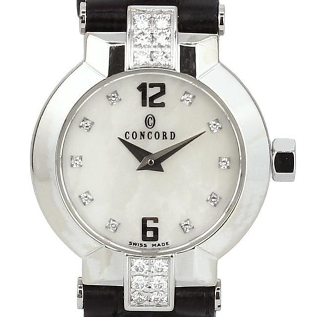 コンコルド エスシール 10P ベゼル ダイヤモンド クォーツ 時計の通販 by papi's shop|ラクマ