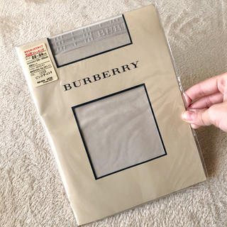 BURBERRY - 新品!■ バーバリー レディースストッキング■Mピンクベージュタイツ