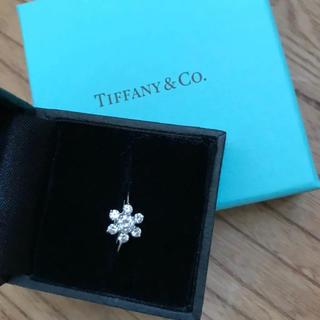 ティファニー(Tiffany & Co.)のティファニー プラチナ ダイヤリング(リング(指輪))