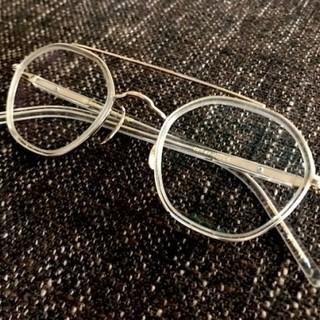 アヤメ(Ayame)のayame HEX-AV CLE  ツーブリッジ アヤメ 眼鏡(サングラス/メガネ)