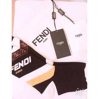 フェンディ(FENDI)のまいちゃん様専用FENDI靴下フェンディくつ下 新品未使用タグ付き正規品(ソックス)