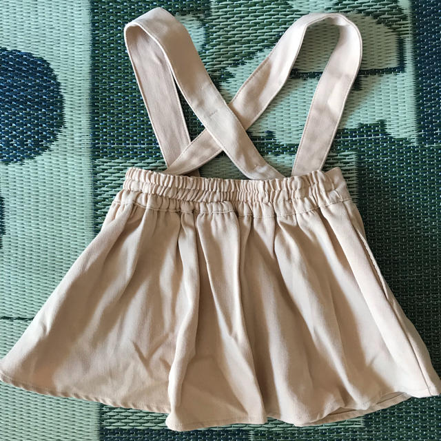 BREEZE(ブリーズ)のBREEZE サロペットスカート☺︎ キッズ/ベビー/マタニティのキッズ服 女の子用(90cm~)(スカート)の商品写真