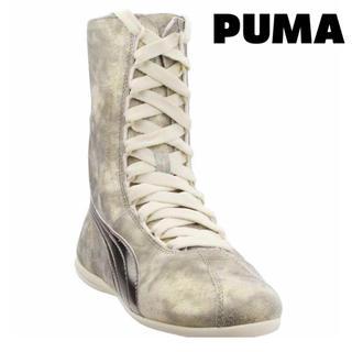 プーマ(PUMA)のpuma プーマ スニーカー 足袋 ブーツ ソックスブーツ 軽量 薄底 レザー(ブーツ)