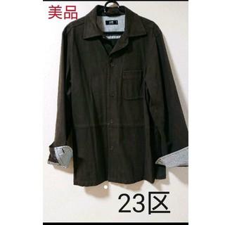 ニジュウサンク(23区)の23区シャツジャケット(シャツ)