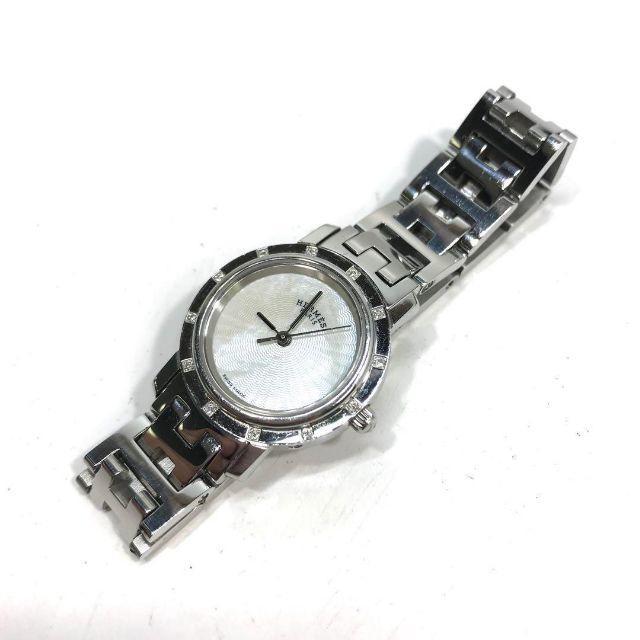 Hermes - 395 美品 エルメス クリッパー 12P ダイヤ レディース 腕時計の通販 by フォローで期間限定割引中〜|エルメスならラクマ