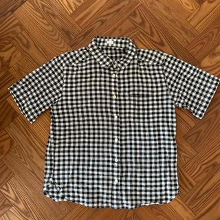 ジーユー(GU)のGU ギンガムチェック 半袖シャツ(シャツ/ブラウス(半袖/袖なし))