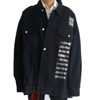 【RAF SIMONS】19SSデニムジャケット メンズ サイズS