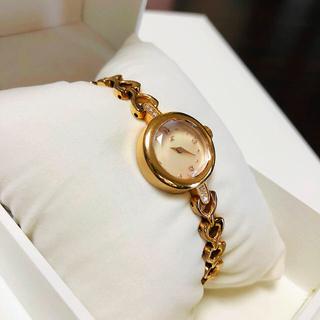 ヨンドシー(4℃)の4℃ ブレスレットウォッチ ゴールド 時計 新品電池交換済み(腕時計)
