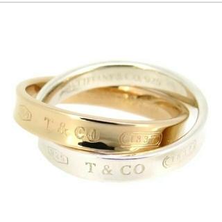 ティファニー(Tiffany & Co.)のインターロッキングサークルリング(リング(指輪))