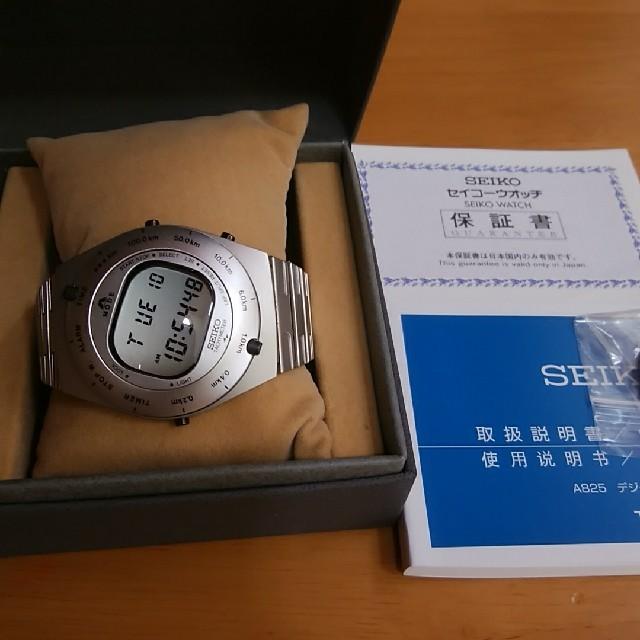 SEIKO - SEIKOジウジアーロ、デザイン限定モデル、限定3,000本復刻デジタルの通販 by 睦's shop|セイコーならラクマ