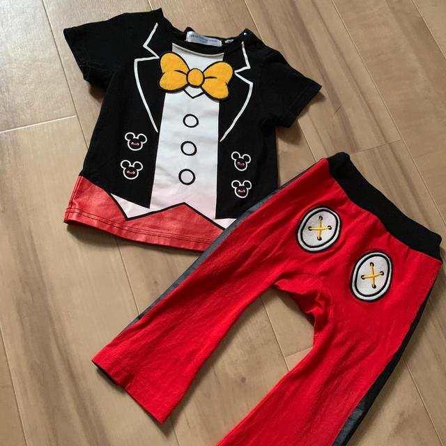Disney(ディズニー)のミッキー   公式  コスプレ キッズ/ベビー/マタニティのキッズ服 男の子用(90cm~)(Tシャツ/カットソー)の商品写真
