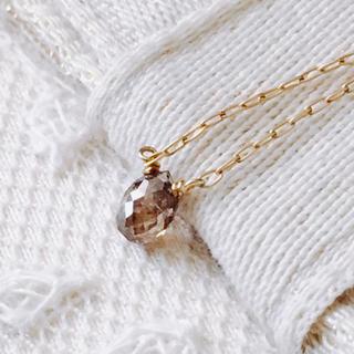 KAORU - アトリエカオル ポロリンネックレス ダイヤモンド