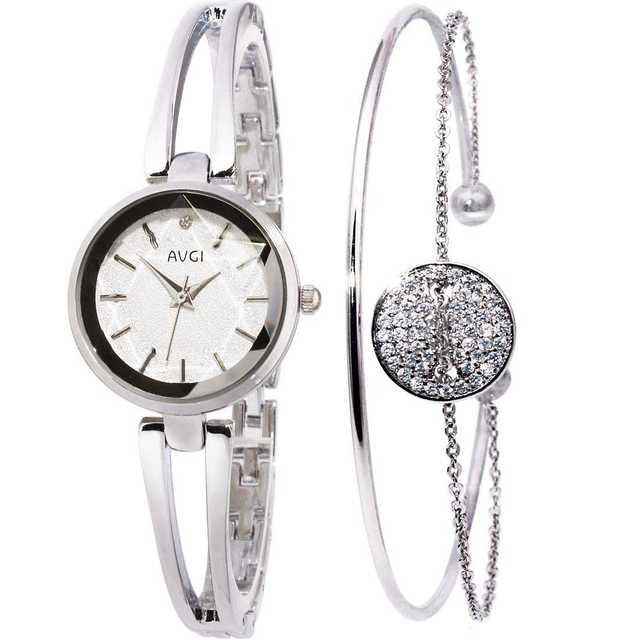 AVGI レディース 腕時計 ブレスレットウオッチの通販 by スマ3's shop|ラクマ