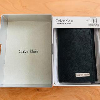 カルバンクライン(Calvin Klein)のCalvin Klein キーケース ブラック(キーケース)
