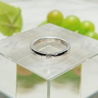 ■K18WG  ダイヤモンドリング(リング(指輪))