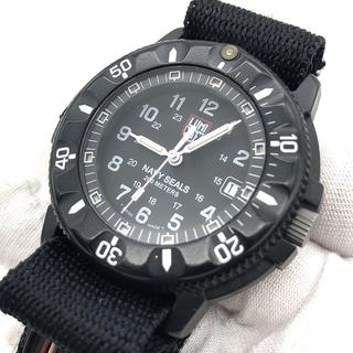 best service 6651c f8b9a LUMINOX ルミノックス メンズ 腕時計 NAVY SEALS 3900 黒