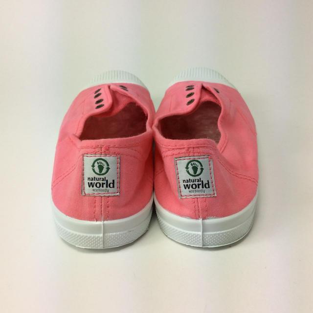 NW キャンバス スリッポン ピンク 24.0cm 1521380301-1 レディースの靴/シューズ(スニーカー)の商品写真