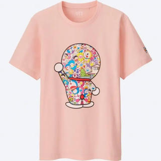 ユニクロ(UNIQLO)のドラえもんTシャツ 送料無料村上隆 ルイヴィトン ユニクロ コラボ サイズxs (Tシャツ/カットソー(半袖/袖なし))