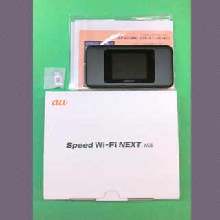 エーユー(au)の🌟 au版 Speed Wi-Fi NEXT W06 🌟新品未使用 1個(その他)