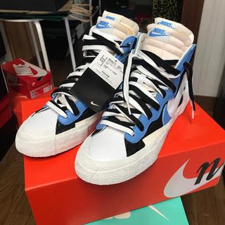 ナイキ(NIKE)の【本日限り値下げ】Nike sacai Blazer Mid 青 26.5㎝(スニーカー)