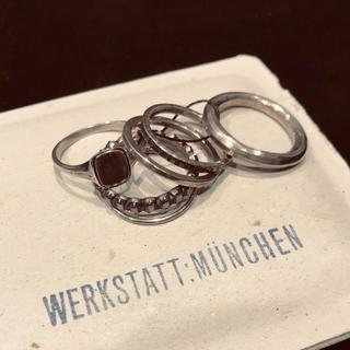 ワークスタットミュンヘン 6 Ring Combination Eternity(リング(指輪))