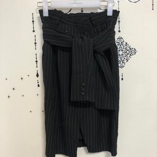 ココディール(COCO DEAL)のココディール スカート 紗栄子着用 サイズ1(ひざ丈ワンピース)