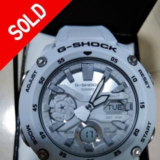 ジーショック(G-SHOCK)の新品未使用❗G-SHOCK  GA-2000S-7AJF カーボンコアガード(腕時計(アナログ))