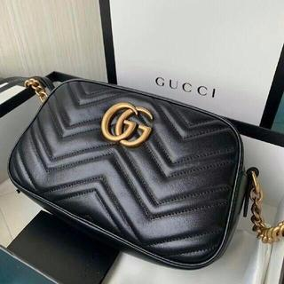 sneakers for cheap f4668 f9bbb GUCCI GGマーモント ショルダーバッグ