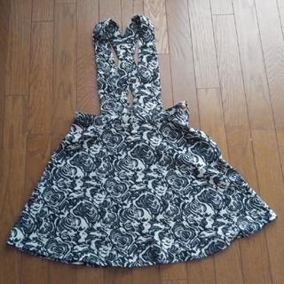 セシルマクビー(CECIL McBEE)のCECIL McBEE 女児ジャンパースカート Msize(ひざ丈スカート)