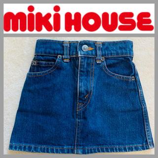 ミキハウス(mikihouse)のmiki HOUSE  ミキハウス デニムスカート  T93-B53(スカート)