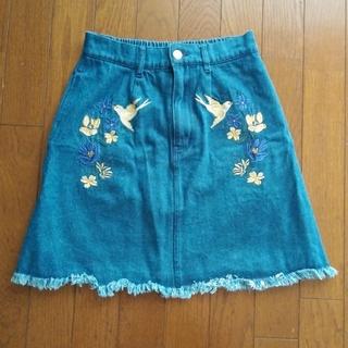 Dukkah デニムスカート Fsize(ミニスカート)