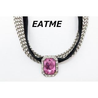 イートミー(EATME)のR-75 EATME イートミー ストーン 2連 チョーカー ネックレス 完売品(ネックレス)
