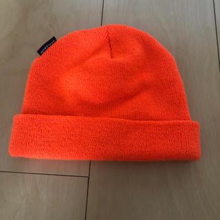 アップルバム(APPLEBUM)のニット帽 オレンジ applebum(ニット帽/ビーニー)