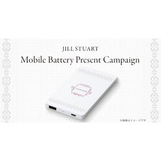 ジルスチュアート(JILLSTUART)の未開封 ジルスチュアート モバイルバッテリー(バッテリー/充電器)
