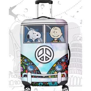 スヌーピー(SNOOPY)のラスト1点 スーツケースカバー スヌーピー  Mサイズ(スーツケース/キャリーバッグ)