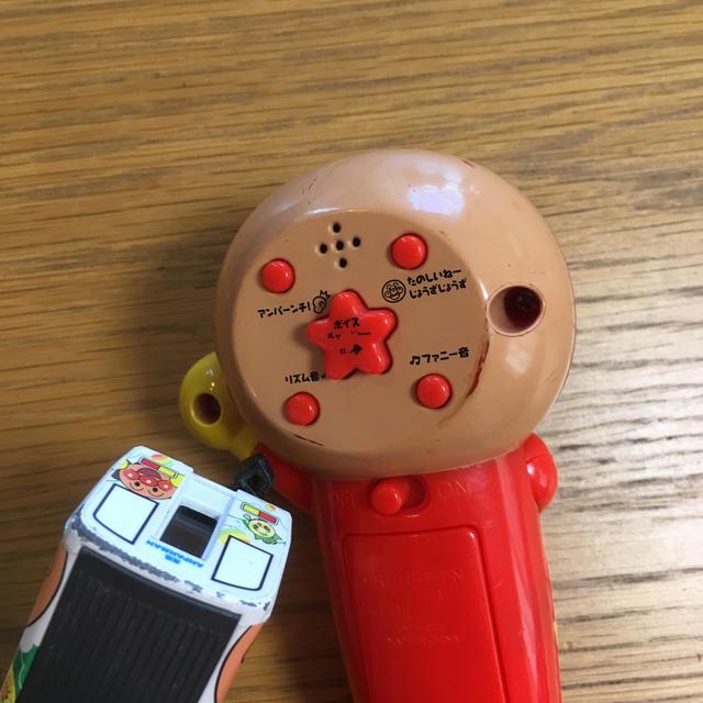 アンパンマン(アンパンマン)のアンパンマン マイクだいすき アンパンマン列車 キッズ/ベビー/マタニティのおもちゃ(楽器のおもちゃ)の商品写真