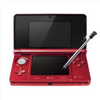 ニンテンドー3DS(ニンテンドー3DS)の任天堂3DS 赤(家庭用ゲームソフト)