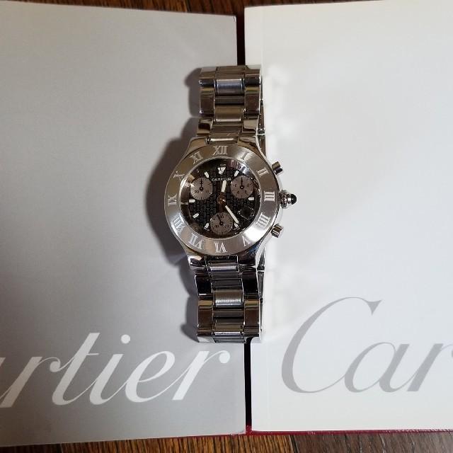 Cartier - カルティエ クロノスカフ メンズ レディースの通販 by しおん04's shop|カルティエならラクマ