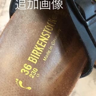 ビルケンシュトック(BIRKENSTOCK)の■確認画像  ビルケンシュトック  23センチ(サンダル)