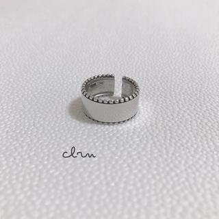 イエナスローブ(IENA SLOBE)の再販 silver925 ラインプレート シルバーリング (リング(指輪))
