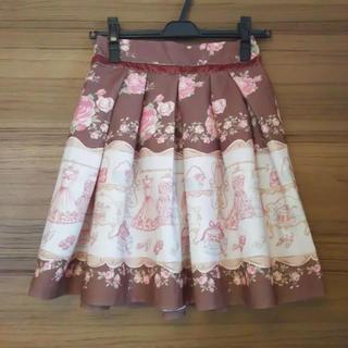 LIZ LISA スカート クローゼット柄 ブラウン