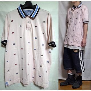 ノーティカ(NAUTICA)のNAUTICA Polo shirt ノーティカ ポロシャツ XXL ピンク (ポロシャツ)